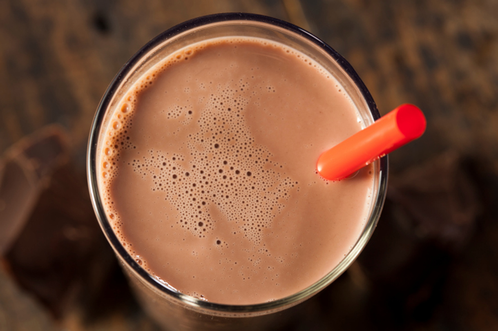 Refreshing Delicious Chocolate Milk