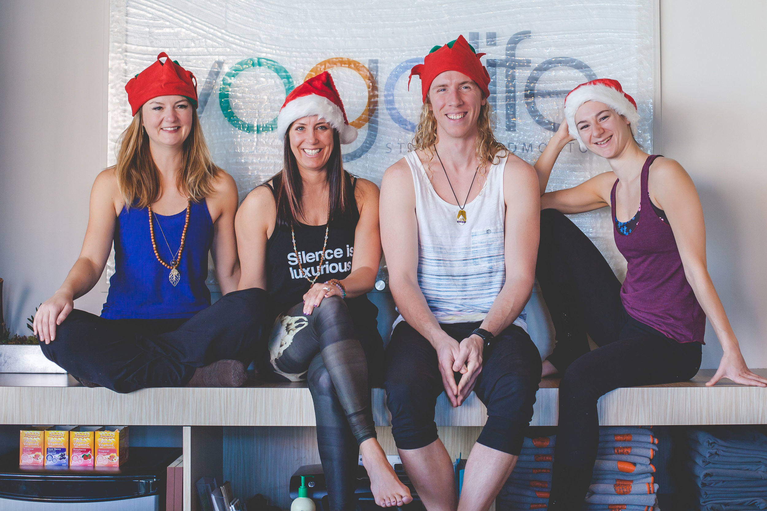 yogalife studios christmas elves