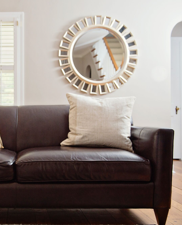 """""""We have been extremely happy!"""" - She really took the time to understand and respect our style, while helping us to also push those boundaries a little with items we may have not chosen otherwise...but absolutely love! I highly recommend Kimberly Barr for your interior design.— J.M."""