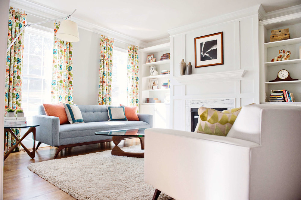 Floral Sitting Room -