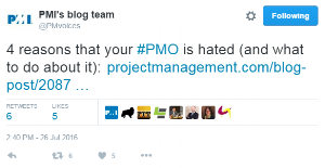 """Far too often, PMO articles focus on the negative"""