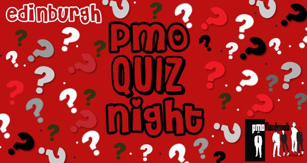PMO Quiz Night Edinburgh