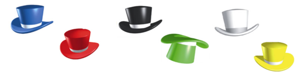 Edward De'Bono's Thinking Hats.