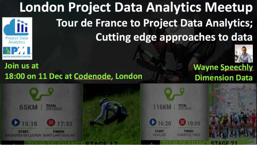London Project Data Analytics Meetup