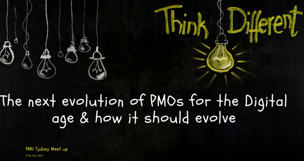 PMO Sydney: Developing the entrepreneurial skills of PMO - What, why and how.