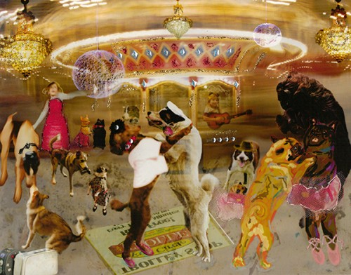 Dogs Dancing at the Carousel