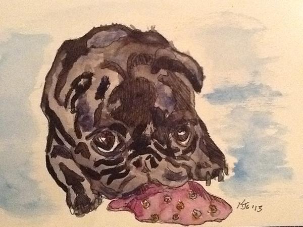 Blog waffles watercolor