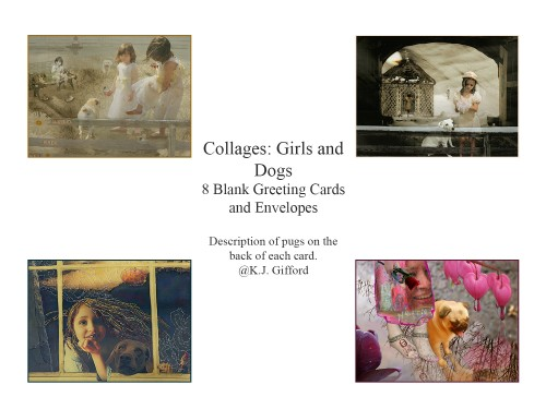 Contact Sheet: Collages Girls and Dogs