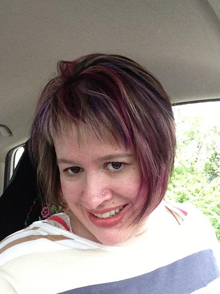 Me purple