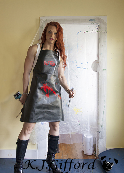 Blog Leah as Dexter 2