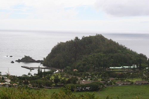 View of Hana from the Cross