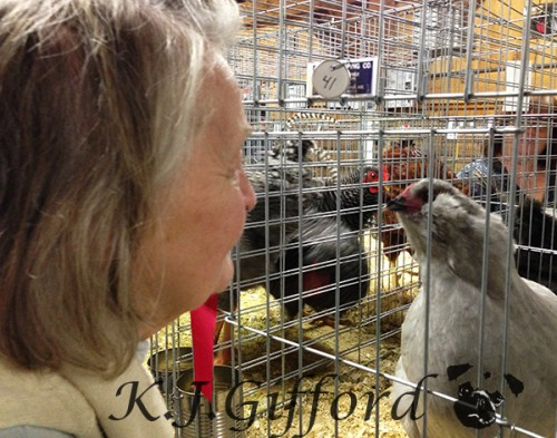 Joan and the chicken