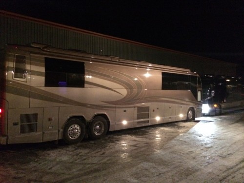 Her Tour Bus