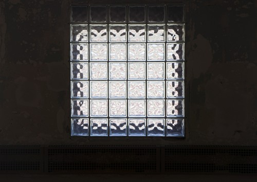 A Mass MoCa window.