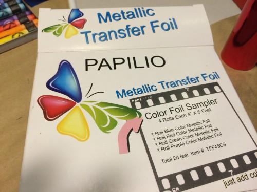 Papilio Metallic Transfer Paper.