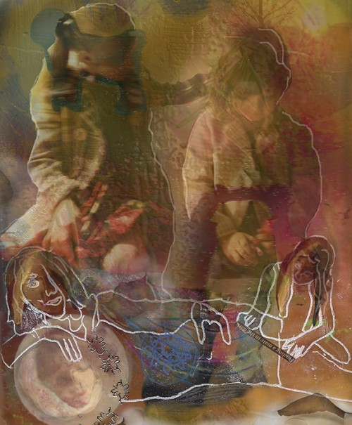Working Draft Digital Collage: Prayer