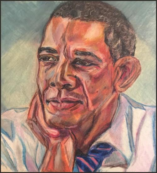 President Barack Obama by K.J. Gifford