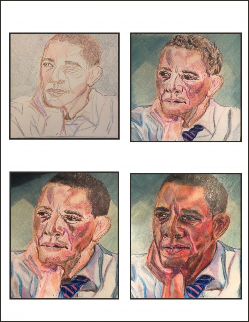 Obama sketches