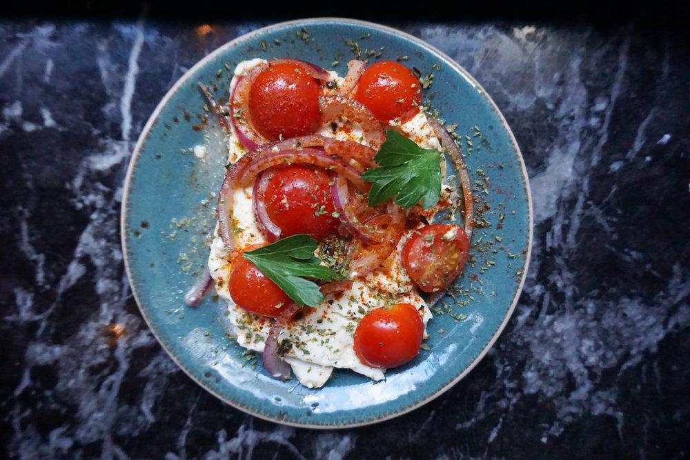 Mediterranean Baked Feta