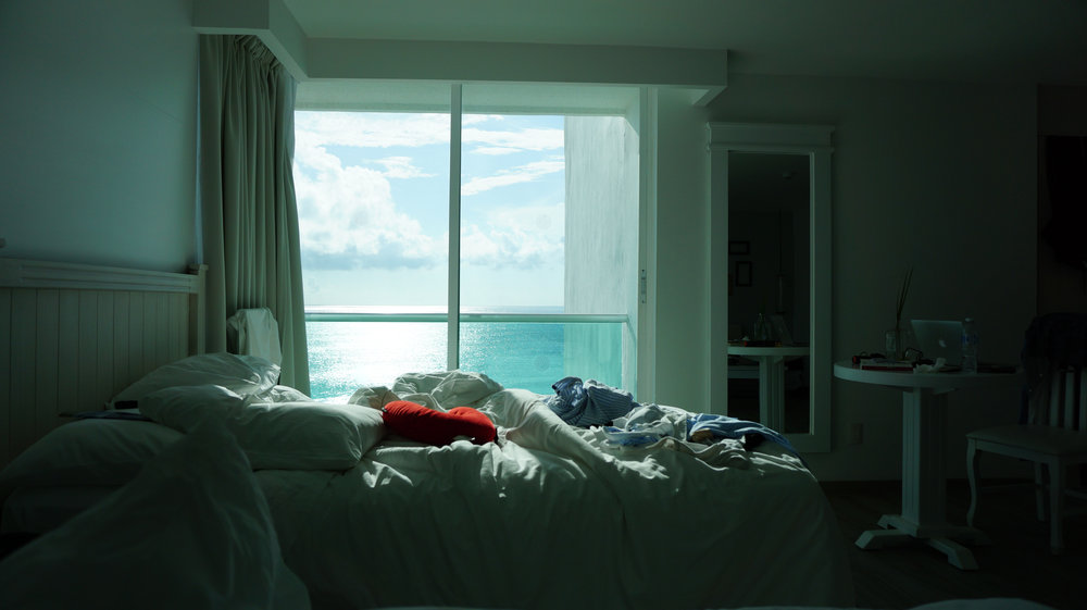 This is our room, after morning nap :)