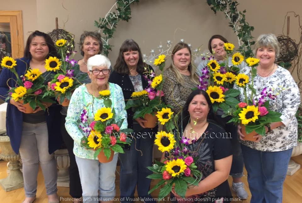 Stylish Sunflowers class.jpg