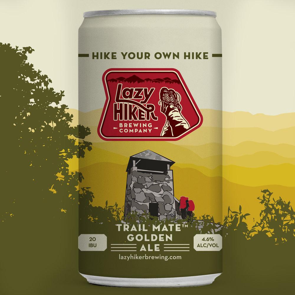 Lazy-Hiker-Brewing-Company-packaging-design-logo-design-branding