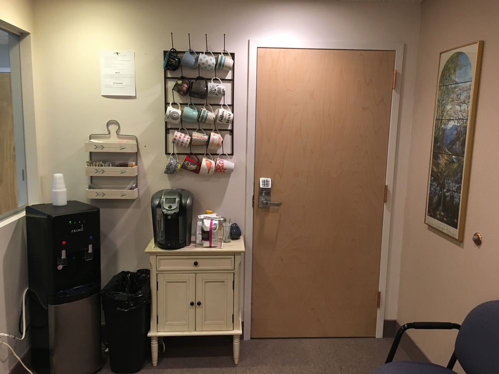 Kristen's office