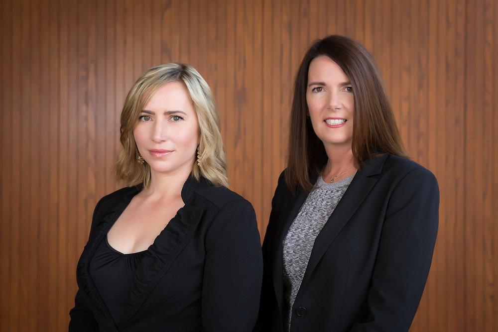 Sarah Engelbert and Lori Howe.