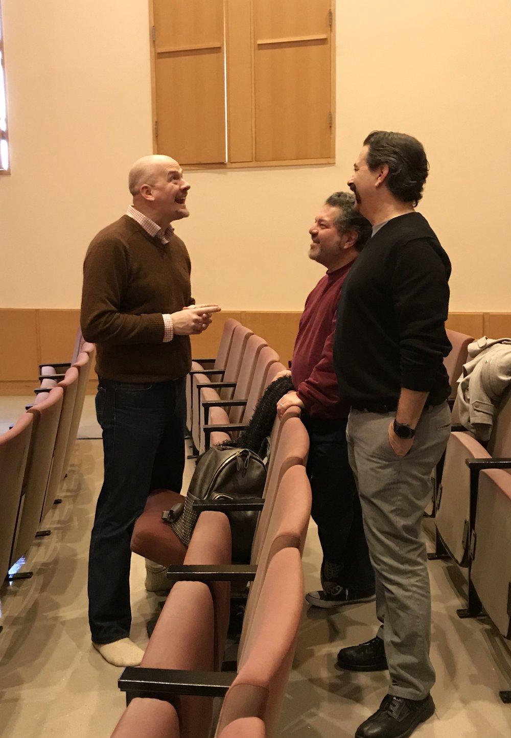 Brandon McShaffrey, Allen Zipper & Dave Caplan