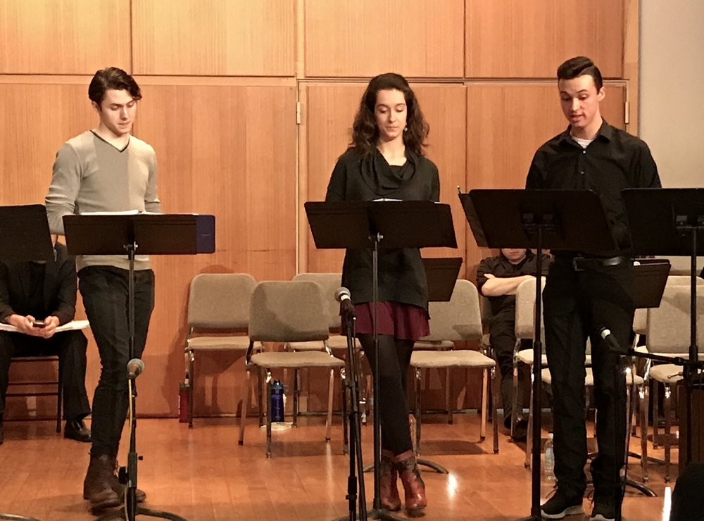 Tyler Ivey, Katie Horner & Skyler Shields