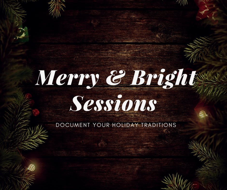 Book your Merry & Bright session today!