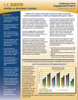 CCEP Policy Brief- Issue Ten - California's Latino an Asian American Vote- Dramatic Underrepresentation in 2014 and Expected Impact in 2016.png