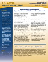 CCEP Policy Brief- Issue Seven - Is Demography Political Destiny- Population Change and California's Future Electorate.jpg