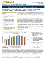 CCEP Policy Brief- Issue Four - Online Voter Registration- Impact on California's 2012 Election Turnout, by Age and Party Affiliation.jpg