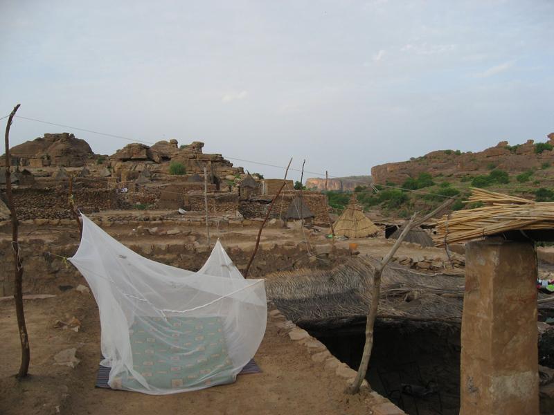 Dogon Village of Begnimato, Bandiagara Cliffs, Mali.