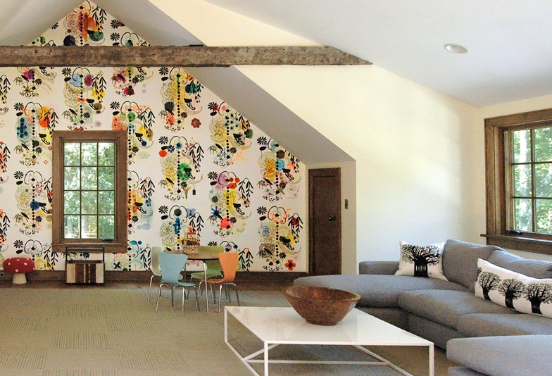 French Dot wall installation, photo courtesy of William Jude Designs, New York.