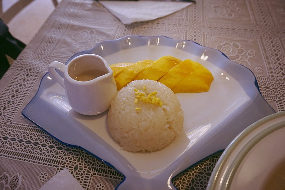 Mango Sticky Rice е сред най-популярните десерти