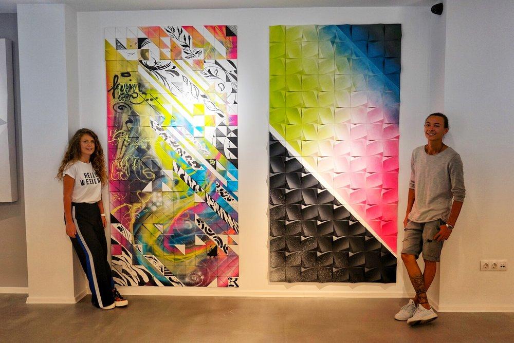 3D Graffiti  Автори: Емануил Сергиев и Bigla Detail