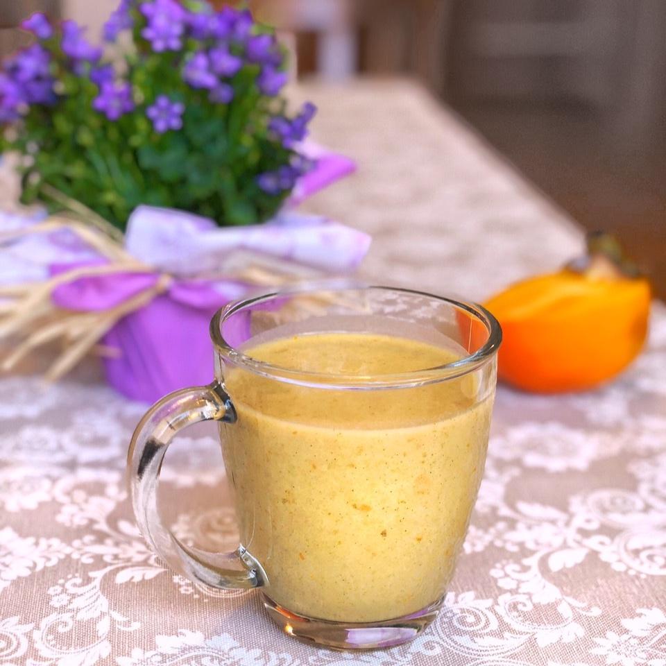 Смути от оризово мляко, райска ябълка, ананас и банан