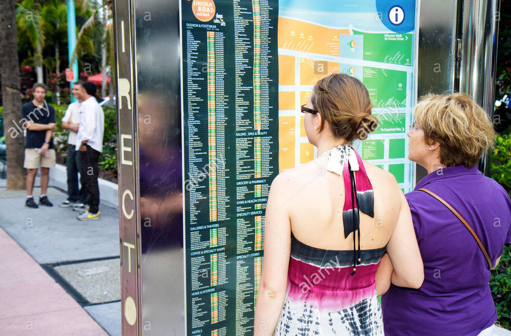 Lincoln Road Wayfinding Program