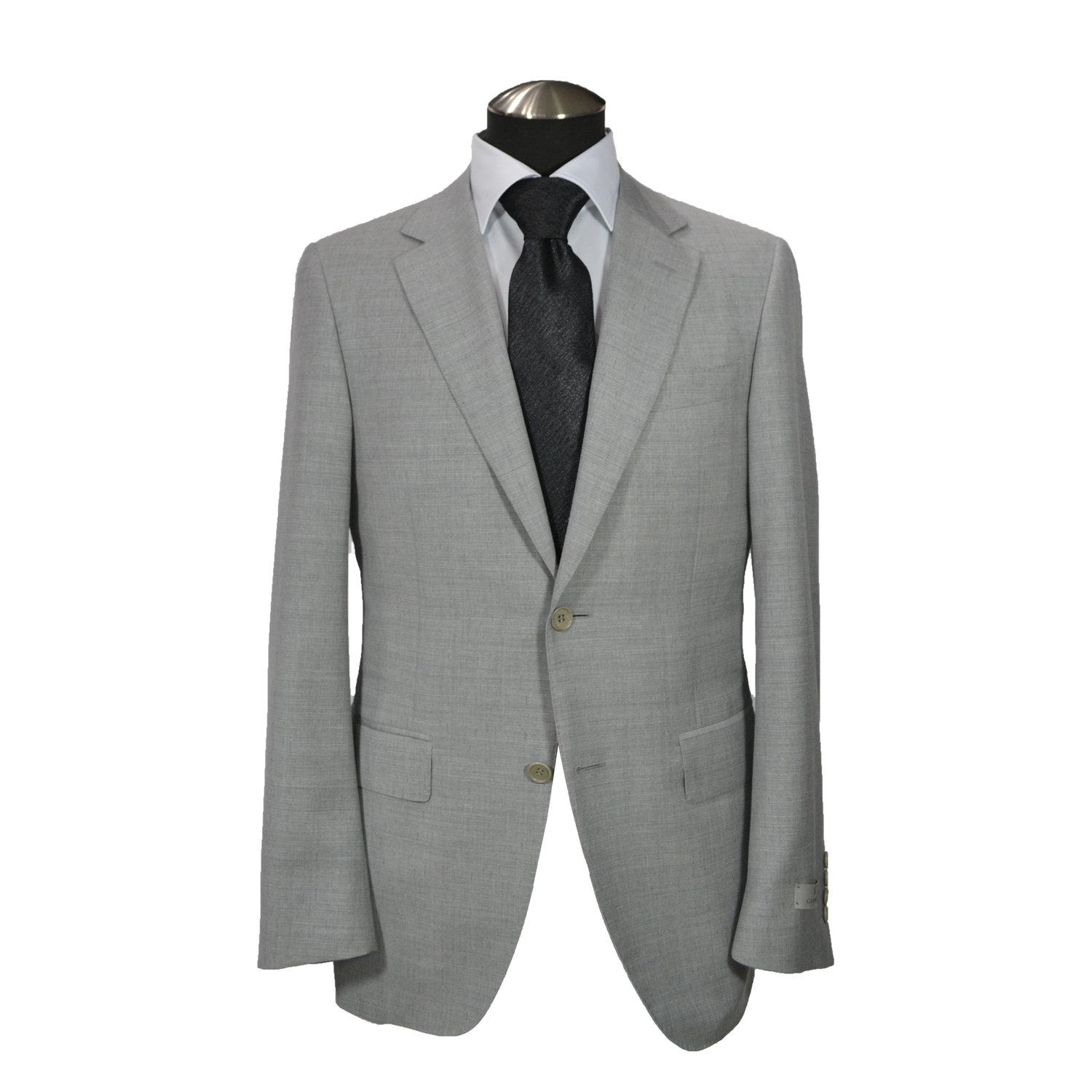 dc59d12ee5decb Canali Super 140S Impeccabile Wool Suit-Light Gray — Uomo San Francisco |  Luxury European Menswear