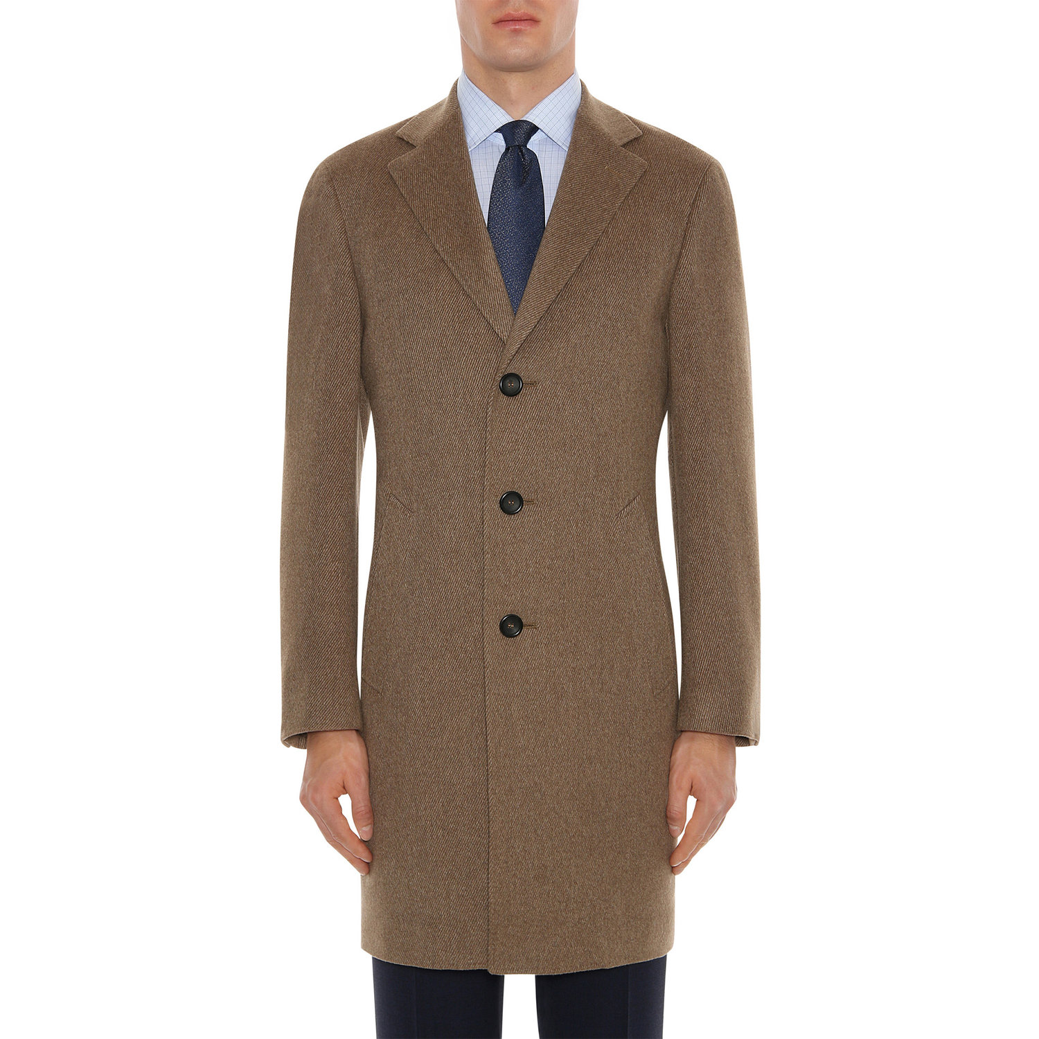 5692e484f4b679 Canali Cashmere & Wool Exclusive Overcoat — Uomo San Francisco | Luxury  European Menswear