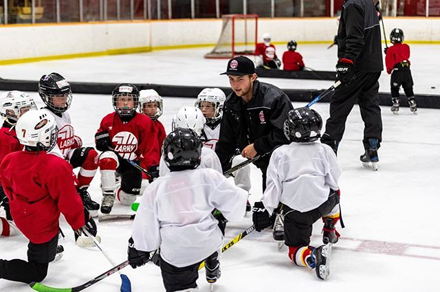 Plans for the weekend? The Larkin Hockey School is still in session!! **Saturday 9-4** #larkinhockeyschool