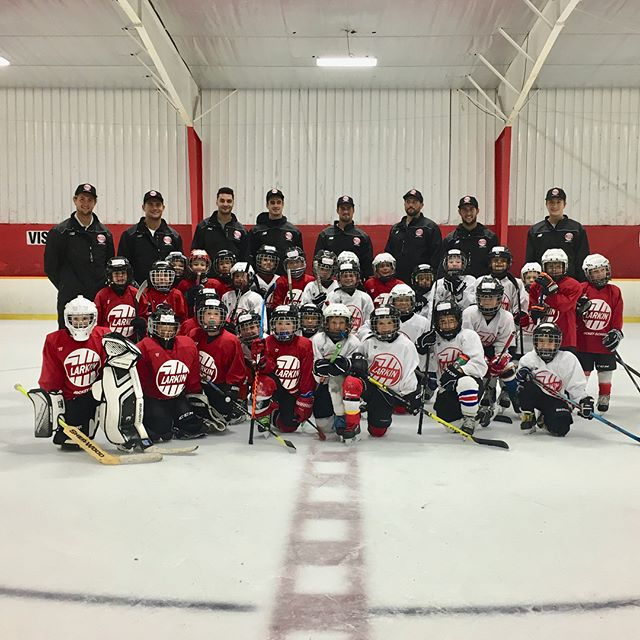 Session 2 is complete!! #larkinhockeyschool
