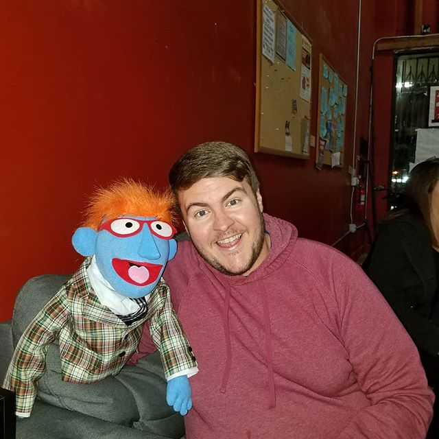 Sometimes you have to hangout with your muppet friends!!! #muppetsarepeopletoo #puppetimprov #improv #improvcomedy #thelocal #theclubhouse @puppetsamok