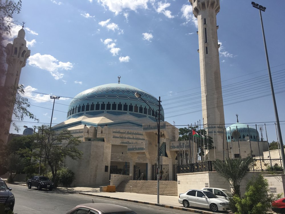 A mosque in Amman.