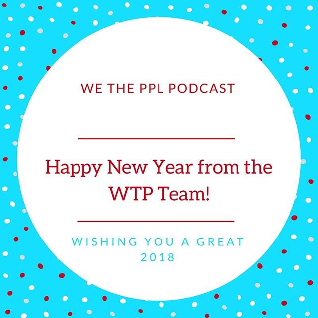 Happy New Year! Check out the newest episode for a recap of 2017 in politics. And stay tuned for more WTP in 2018!