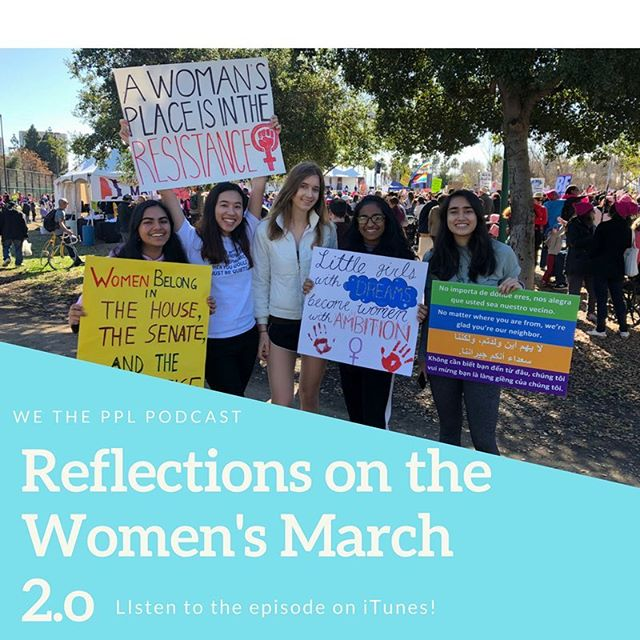 Check out the most recent episode of WTP all about the #WomensMarch and how you can get involved in politics sans ballot!