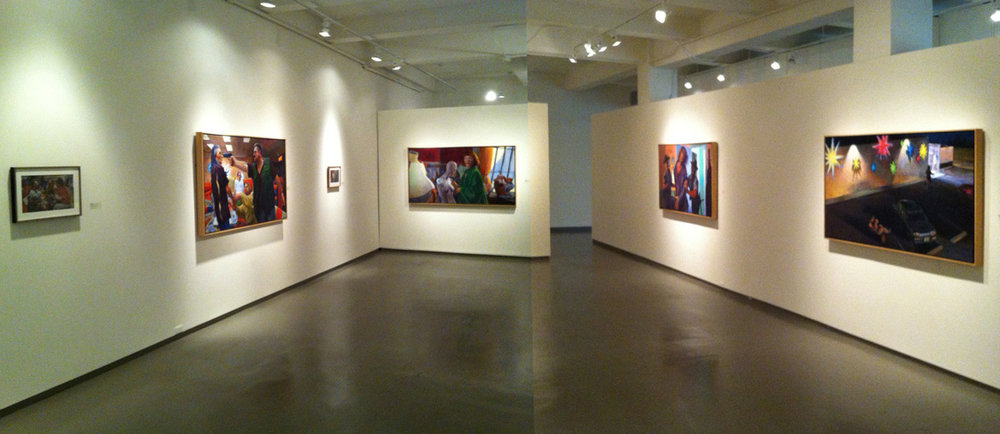 Paintings from the Lebowski Cycle, Installation View