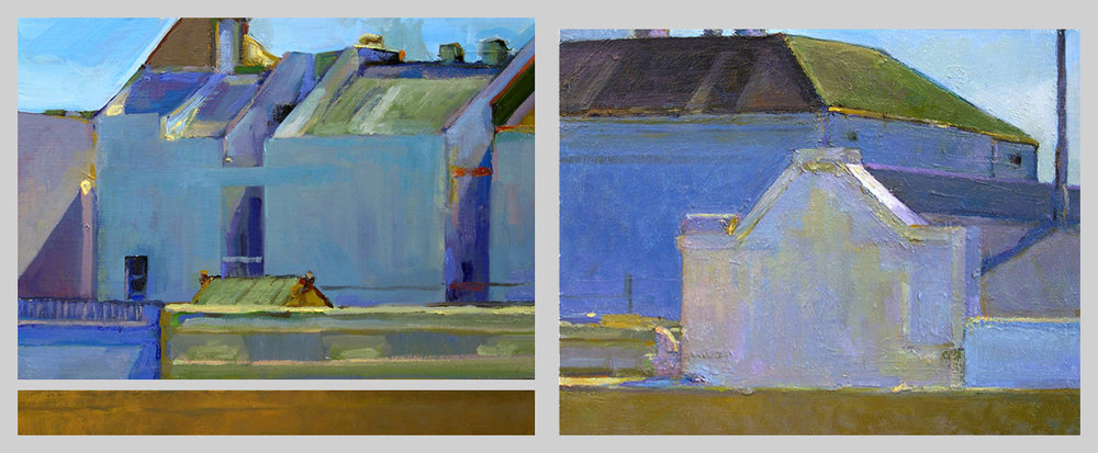 Spurgeon/June 2006 (diptych)